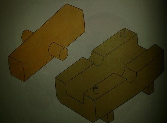 ماهیچه سازی و قالب گیری مدلهای ماهیچه دار
