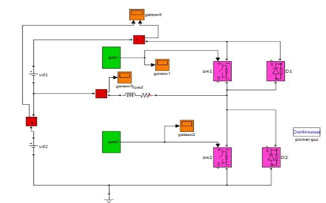 گزارش پروژه درس الکترونیک قدرت (  اینورتر تک فاز نیم پل)