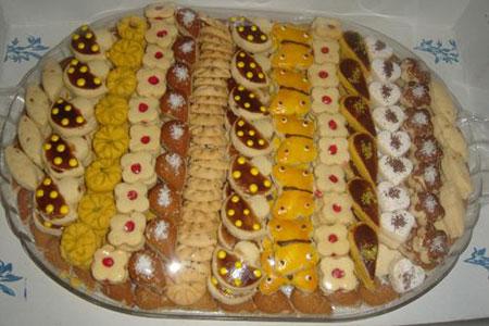 پخت شیرینی های جدید با فوت و فن کوزه گری